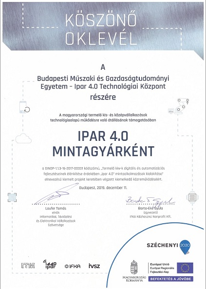 "Read more about the article IFKA – IVSZ ""Mintagyár""- projekt zárása"
