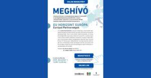 EU HORIZON EUROPE – Európai Partnerségek